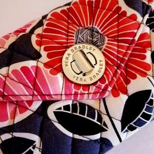 Vera Bradley Cheery Blossoms wristlet